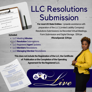 #BrandMaster LLC Resolutions Submission