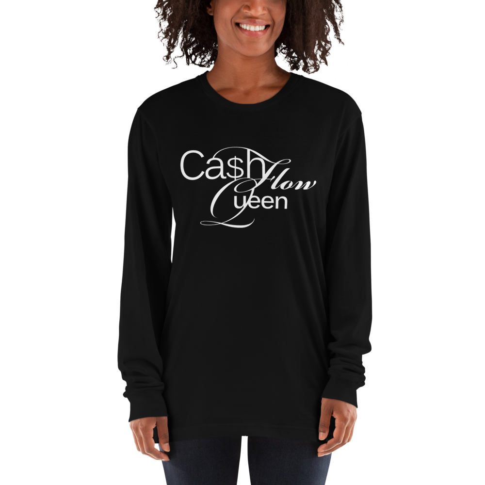 #CashflowQueen | Long sleeve t-shirt