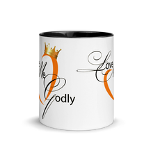 #LoveMeGodly (Sacral) | Mug with Color Inside