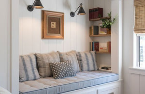 Put Sconces Over the Sofa