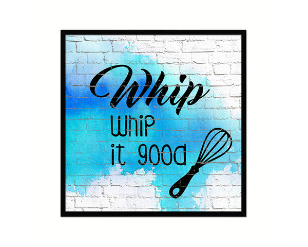 Whip Whip It Good Printable Kitchen Quote Wall Art Home Decor Watercolor Digital Download 2484