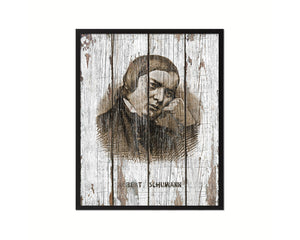 Robert Schumann Classical Music Framed Print Orchestra Teacher Gifts Home Wall Decor