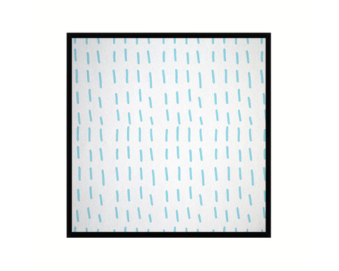 Abstract Aqua Artwork Wood Frame Gifts Modern Wall Decor Art Prints