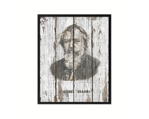 Johannes Brahms Classical Music Framed Print Orchestra Teacher Gifts Home Wall Decor