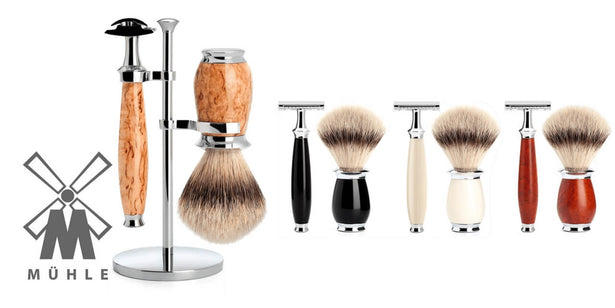 Shaving sets by MUHLE man of siam Thailand