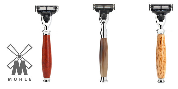Gillette MACH3 MUHLE man of Siam Thailand A Siam Wet Shave Company