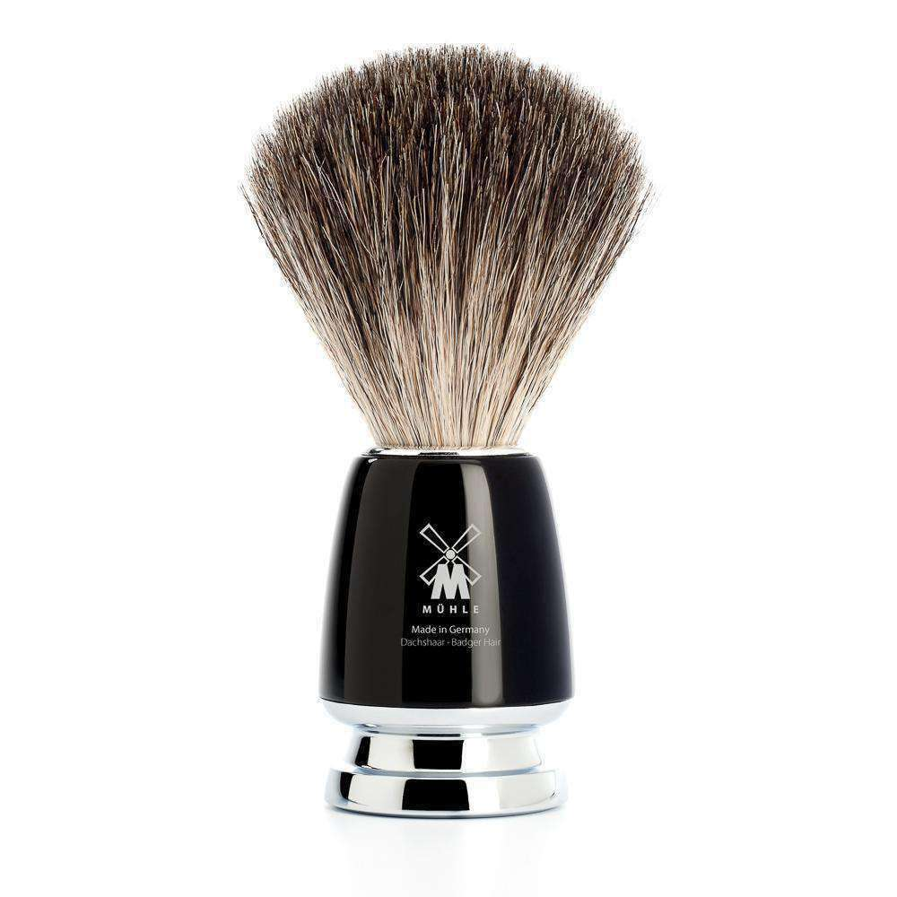 SHAVING BRUSH BY MÜHLE PURE BADGER HIGH GRADE RESIN Handle Man Of Siam Thailand