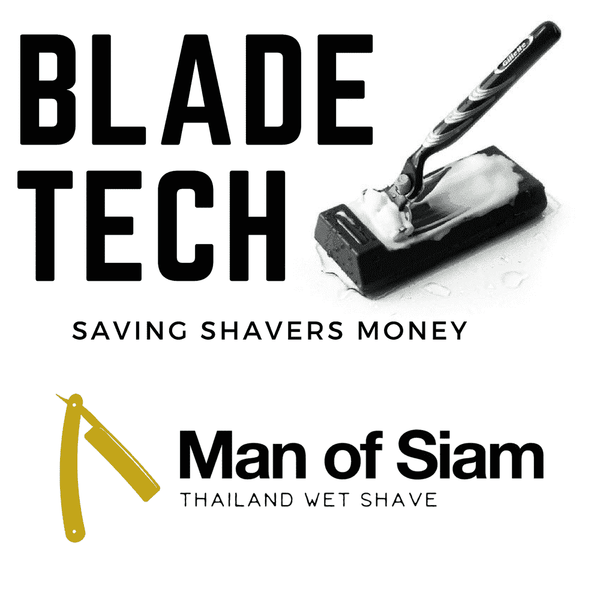 BLADE TECH Cartridge Razor Sharpener Man Of Siam Thailand wet shave company