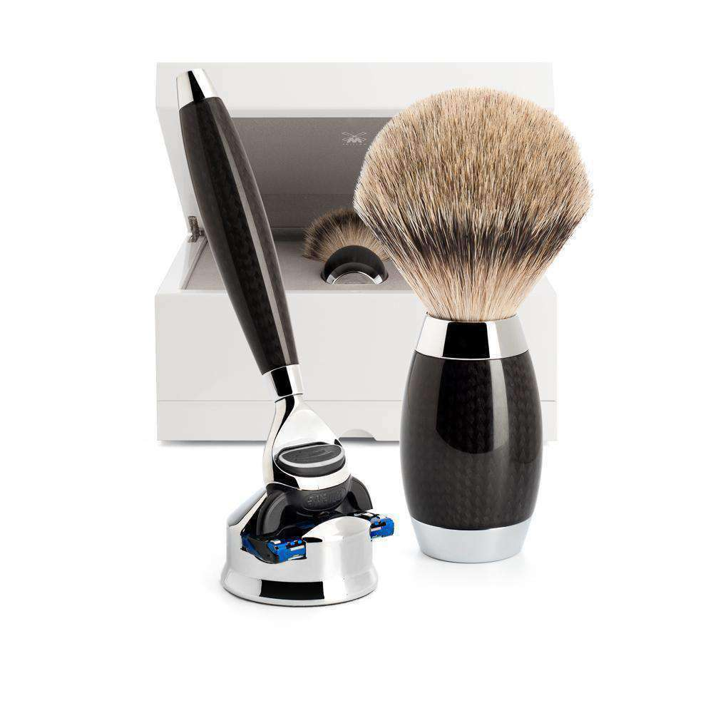 SHAVING SET BY MÜHLE CARBON FIBRE - EDITION 1 Man Of Siam Thailand