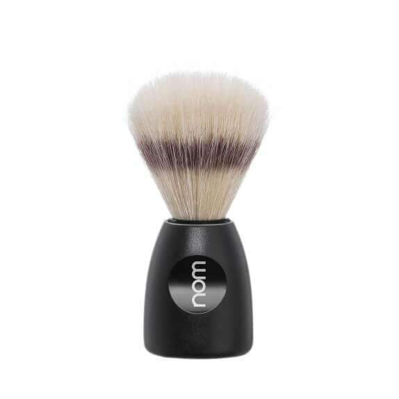 SHAVING BRUSH BY MÜHLE BOAR BRISTLE Black PLASTIC HANDLE Man Of Siam wet shave Thailand
