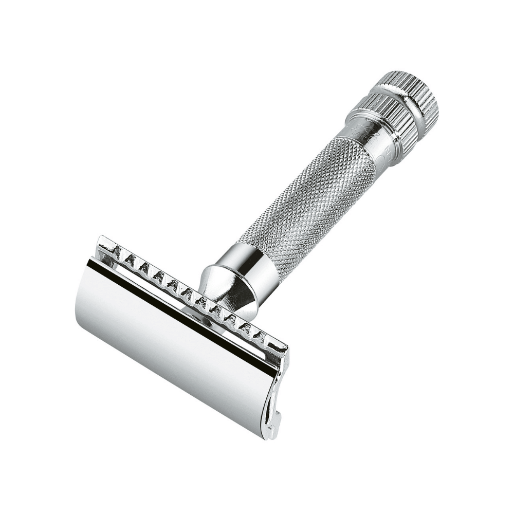 MERKUR 34C Heavy Duty Closed Comb Safety Razor Man Of Siam Wet Shave Thailand