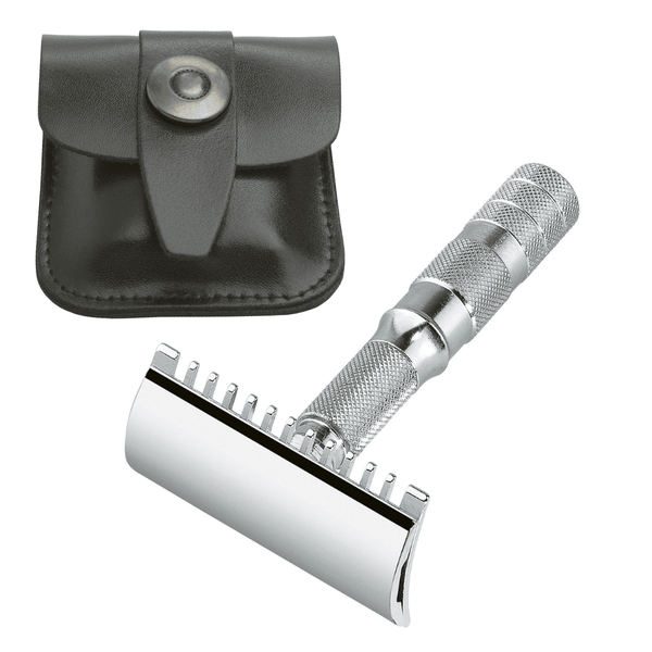 Merkur Safety Razor Travel Set Man Of Siam Wet Shave Thailand SiamTonsure
