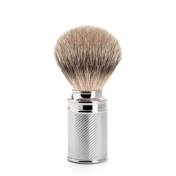 MÜHLE Traditional Silvertip Badger Shaving Brush Chrome Man Of Siam Thailand