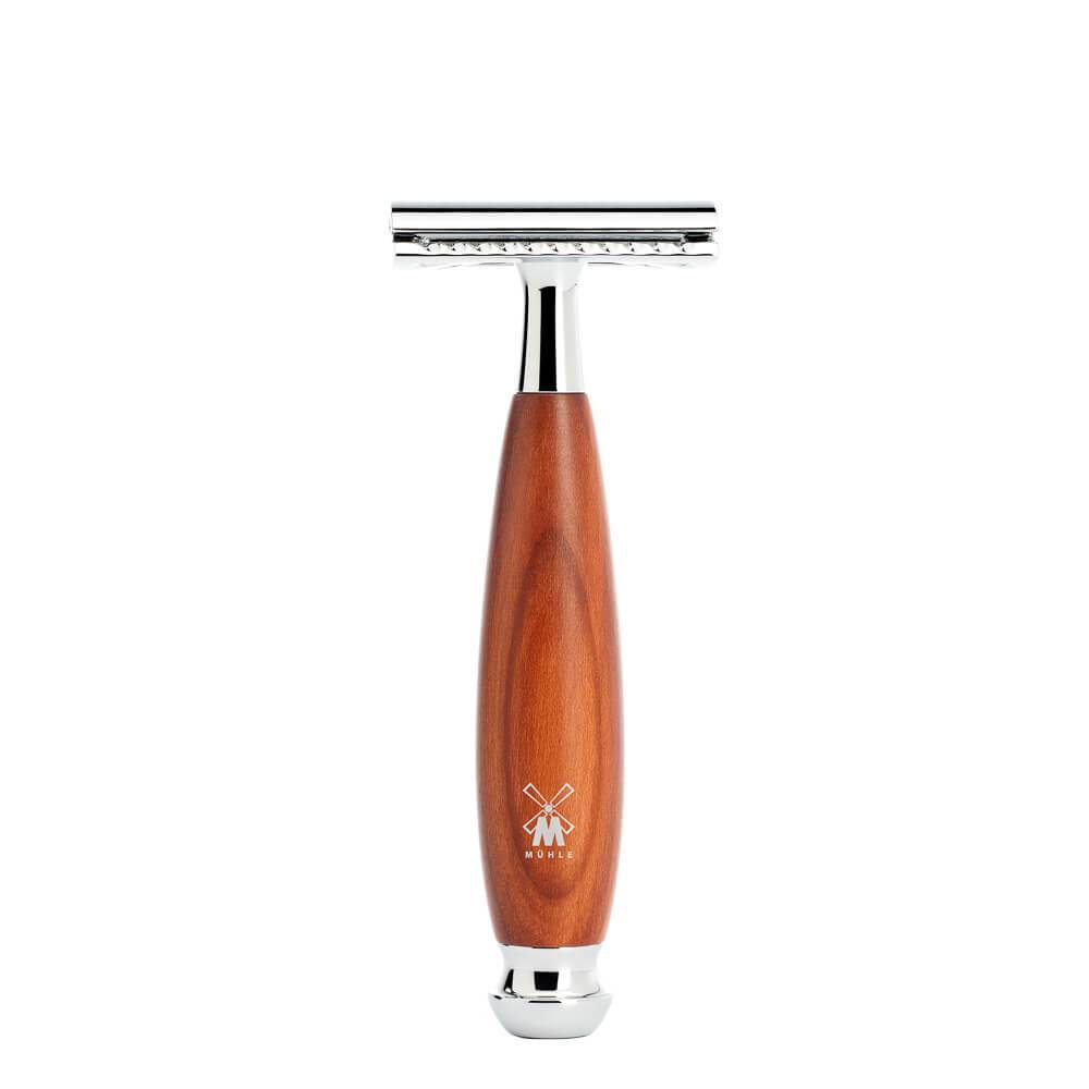 MÜHLE VIVO CLOSED COMB SAFETY RAZOR Plum Wood Man Of Siam Wet Shave Thailand