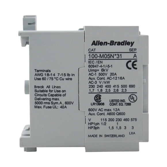 Allen Bradley Group 100-M05NA31