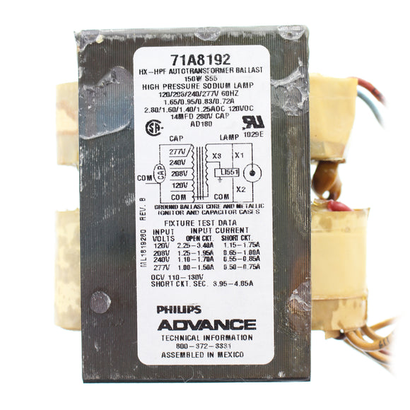 Advance Ballast 71A8172-001D