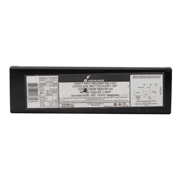 Advance Ballast 72C5381-NP