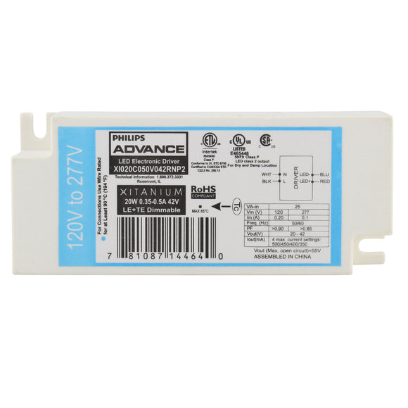 Advance Ballast XI020C050V042RNP2