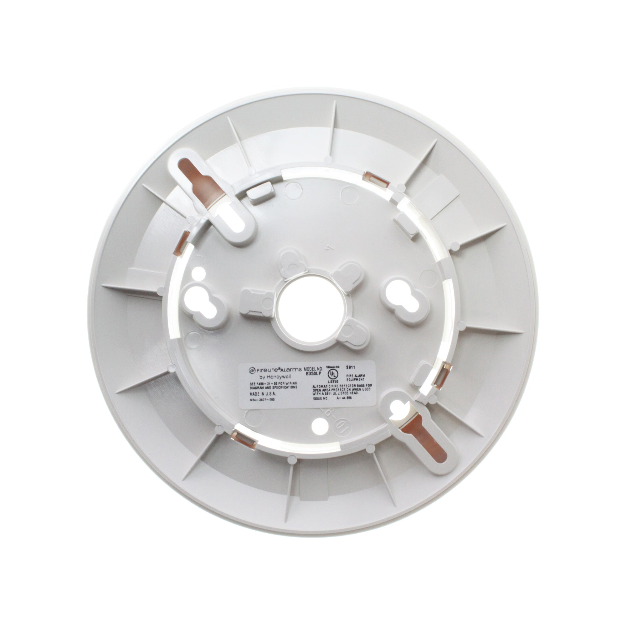 FIRE-LITE B350LP LOW PROFILE ADDRESSABLE DETECTOR MOUNTING