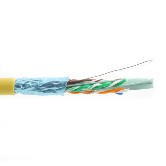 Liberty Wire & Cable 24-4P-L6ASH-YEL