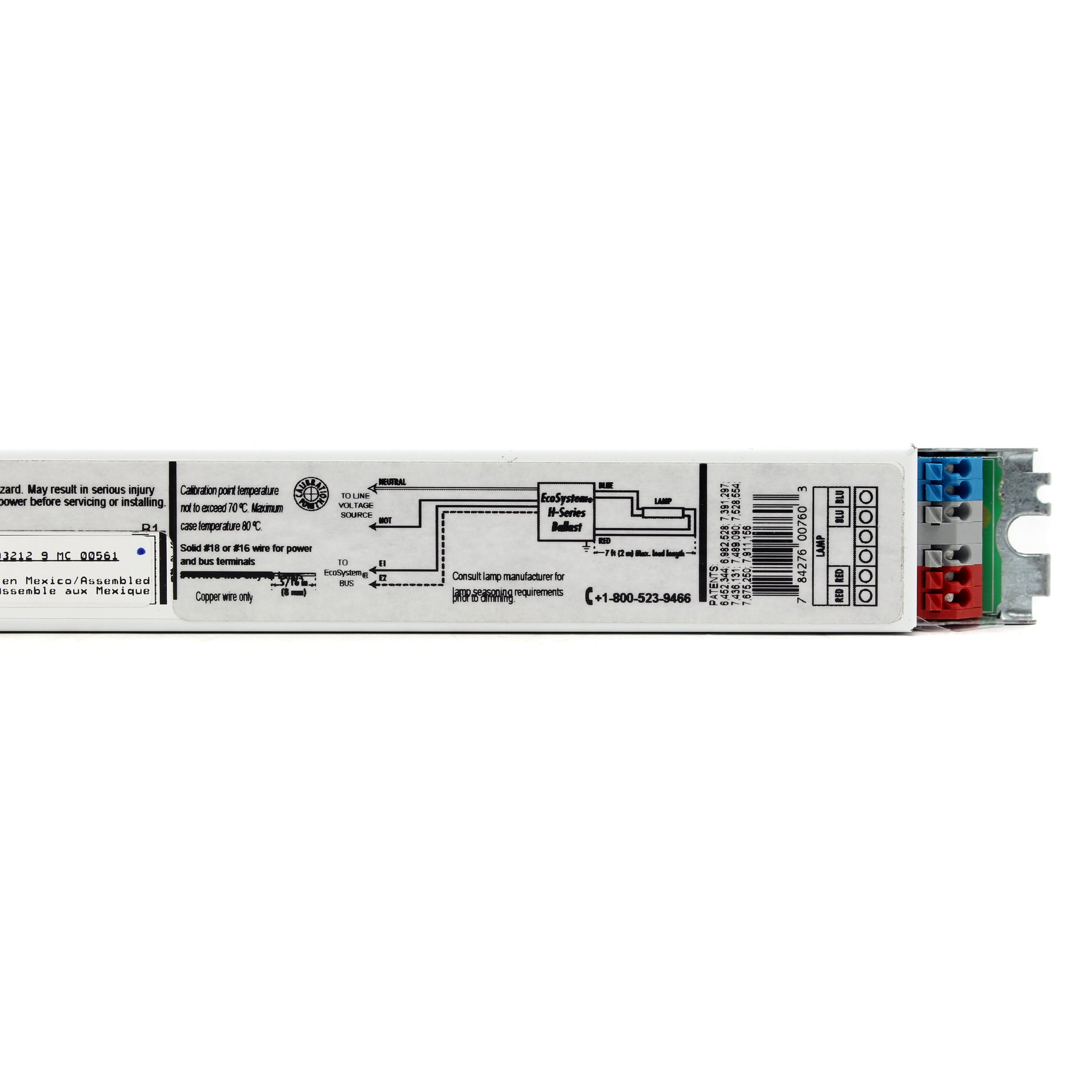 F25T8 Electronic Ballast for 1 T8 Fluorescent 25W lamps