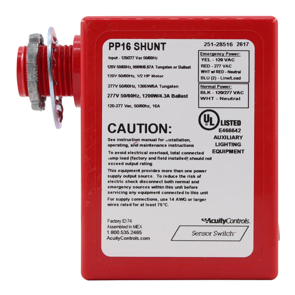 Sensor Switch PP16-SHUNT