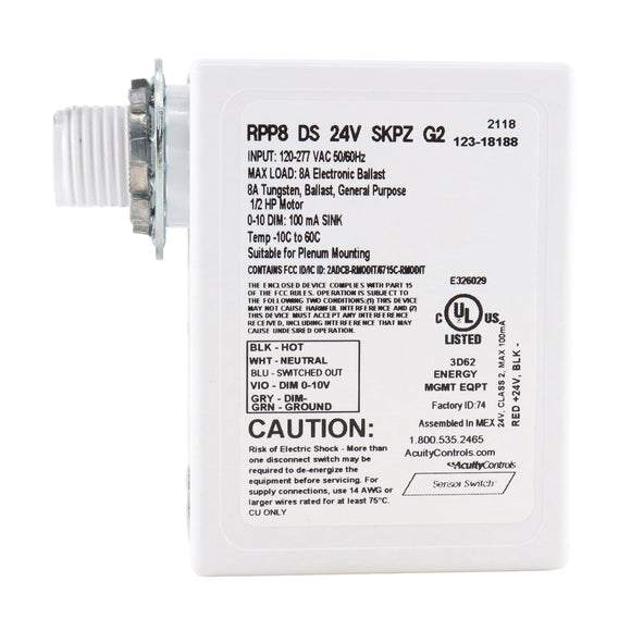 Sensor Switch RPP8-DS-24V-SKPZ-G2