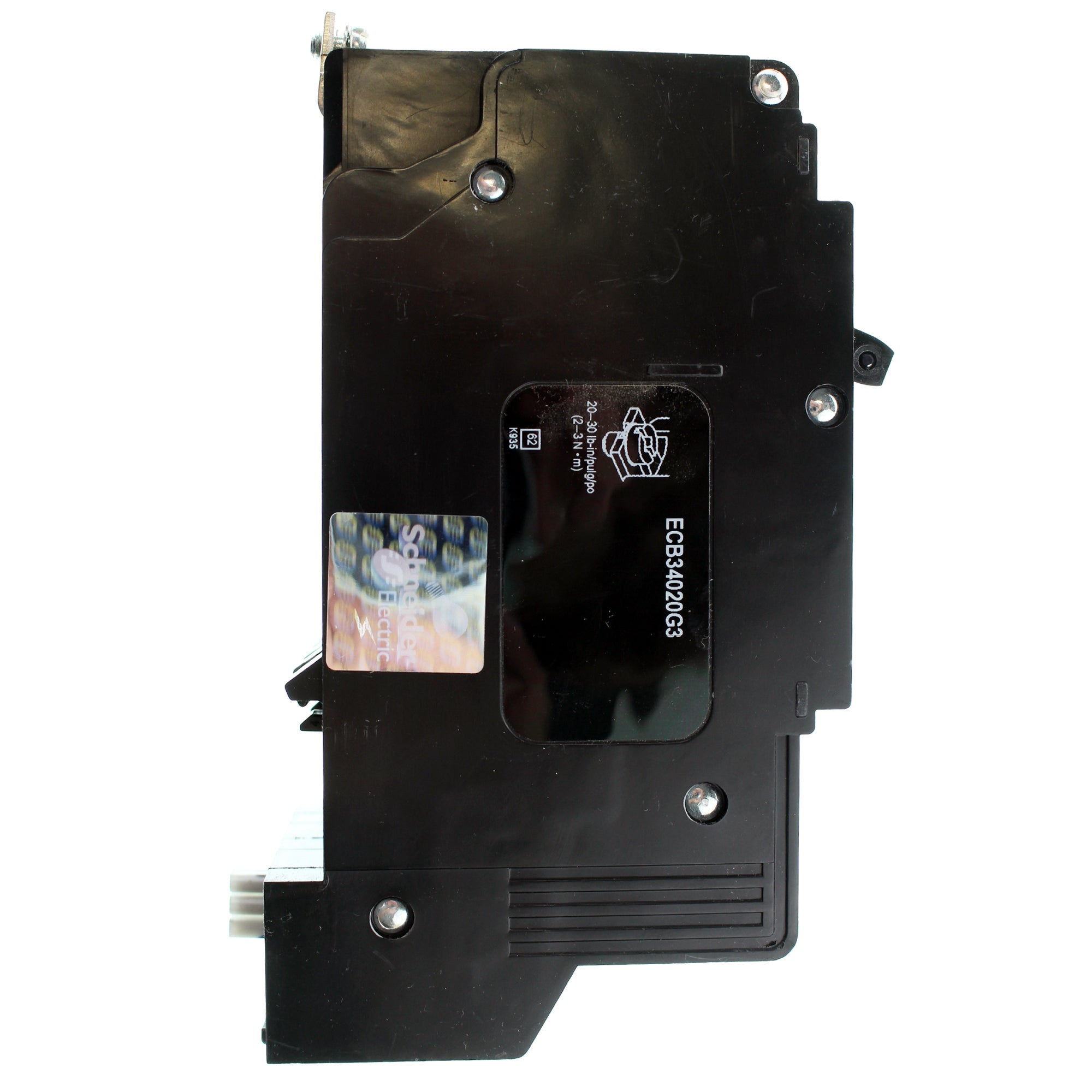 Square D Ecb34020g3 Type Ecb Bolt On Circuit Breaker 480y 277v 20a Remote Controlled 20 Amp 1 Pole