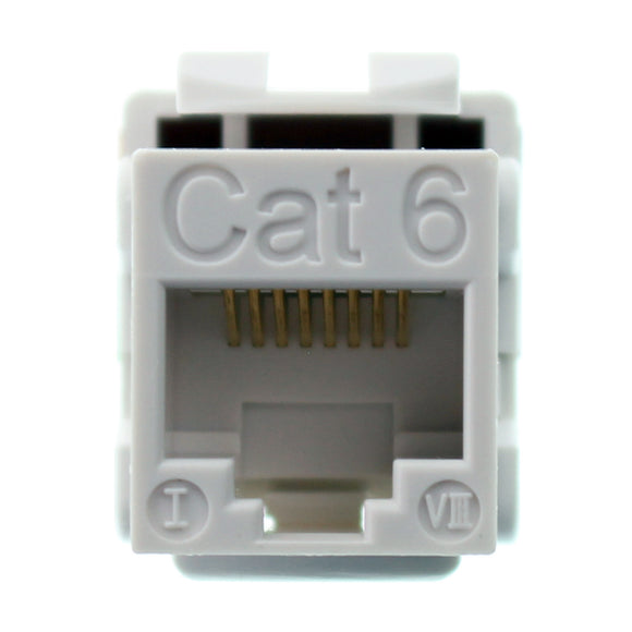 Structured Cable Products CAT6-JACK-WT