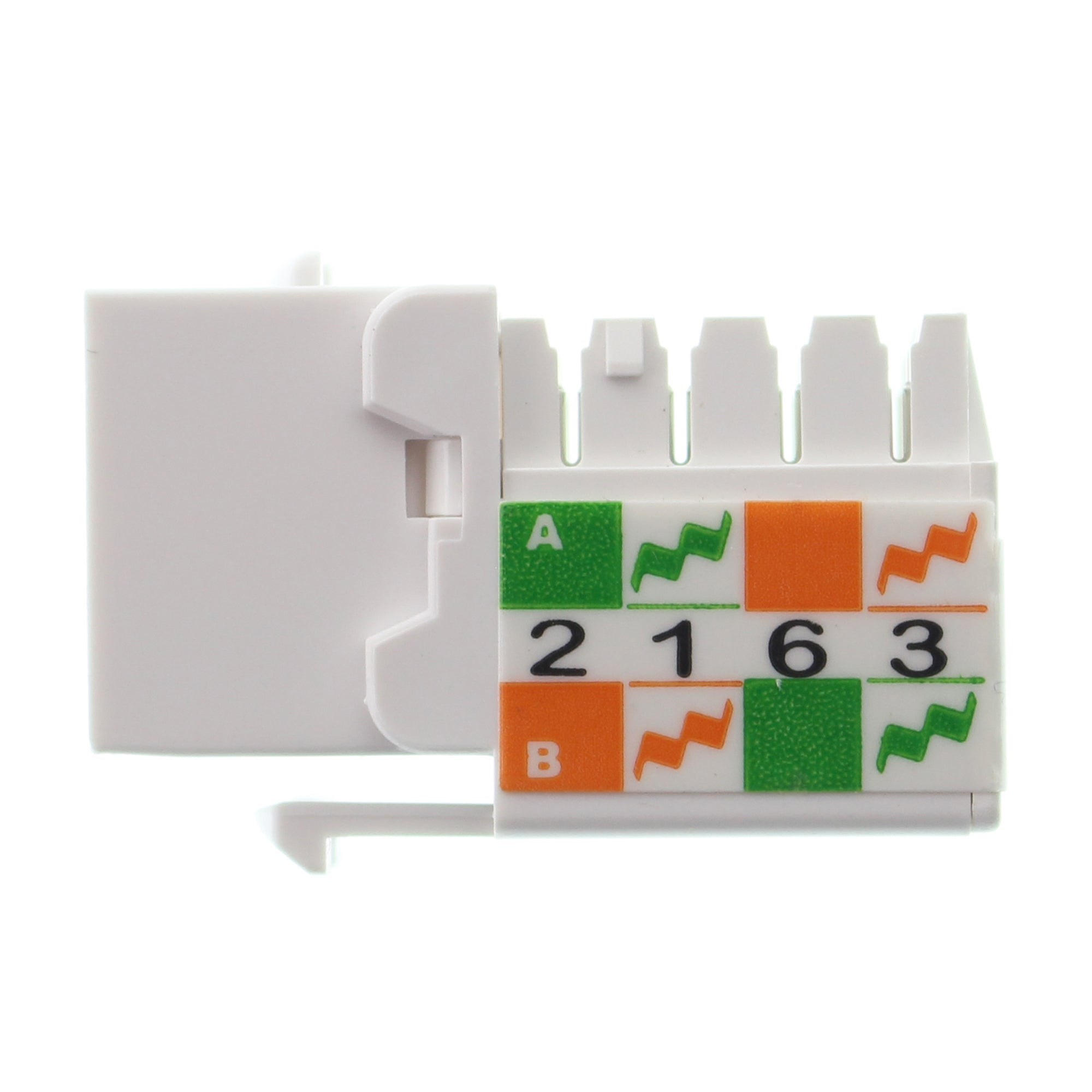Structure Cable Products Cat6 Jack Wt Keystone Insert Wiring Structured