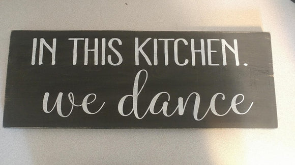 221 - In this kitchen.  WE DANCE