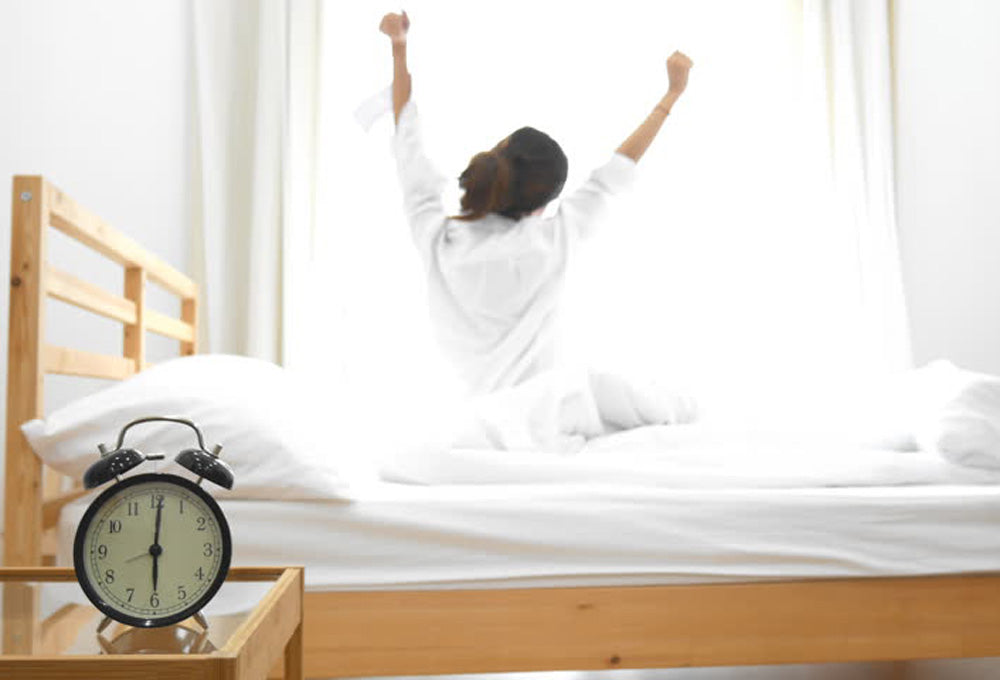 Healthy circadian rhythm when work from home