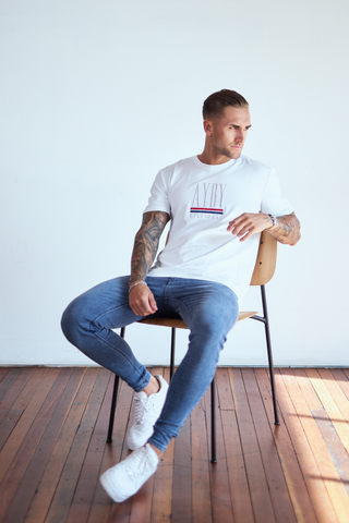 Edition Embroidered Tee - White