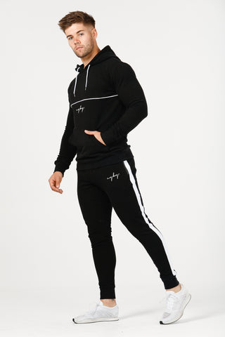 V1 Stretch Tech Hoodie - Black