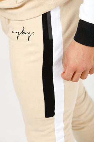 V1 Stretch Tech Track Pants - Beige