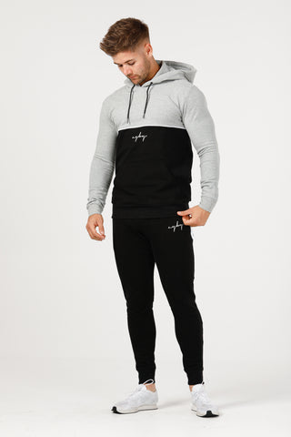 V1 Stretch Tech Hoodie - Grey