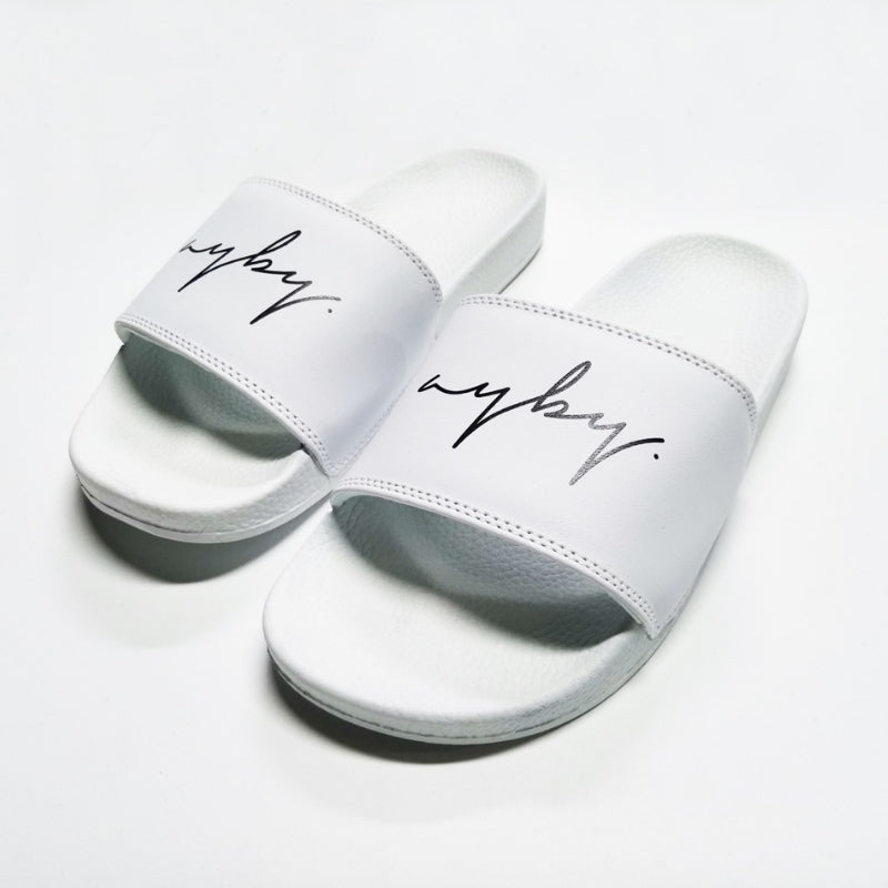 Unisex Regal Slides - White