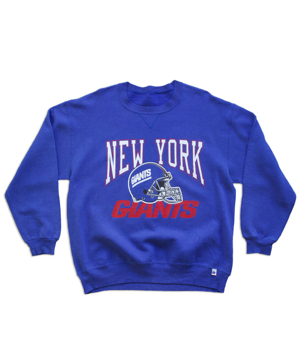 Vintage New York Giants Sweatshirt - Helmet