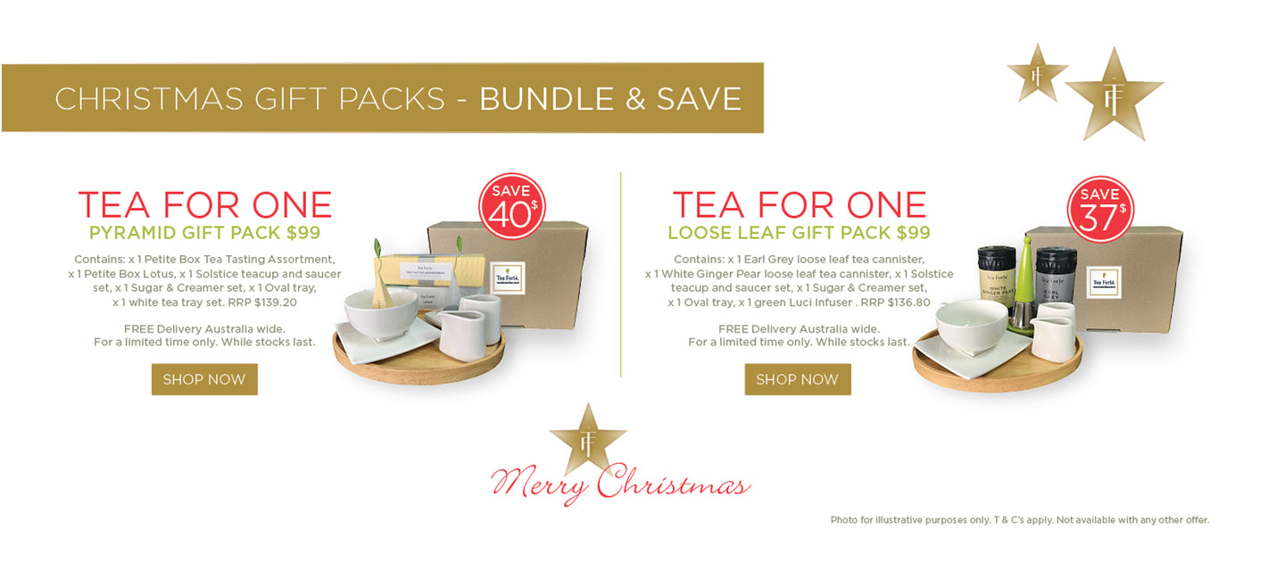 Tea Forte Tea for One Christmas Gift Pack