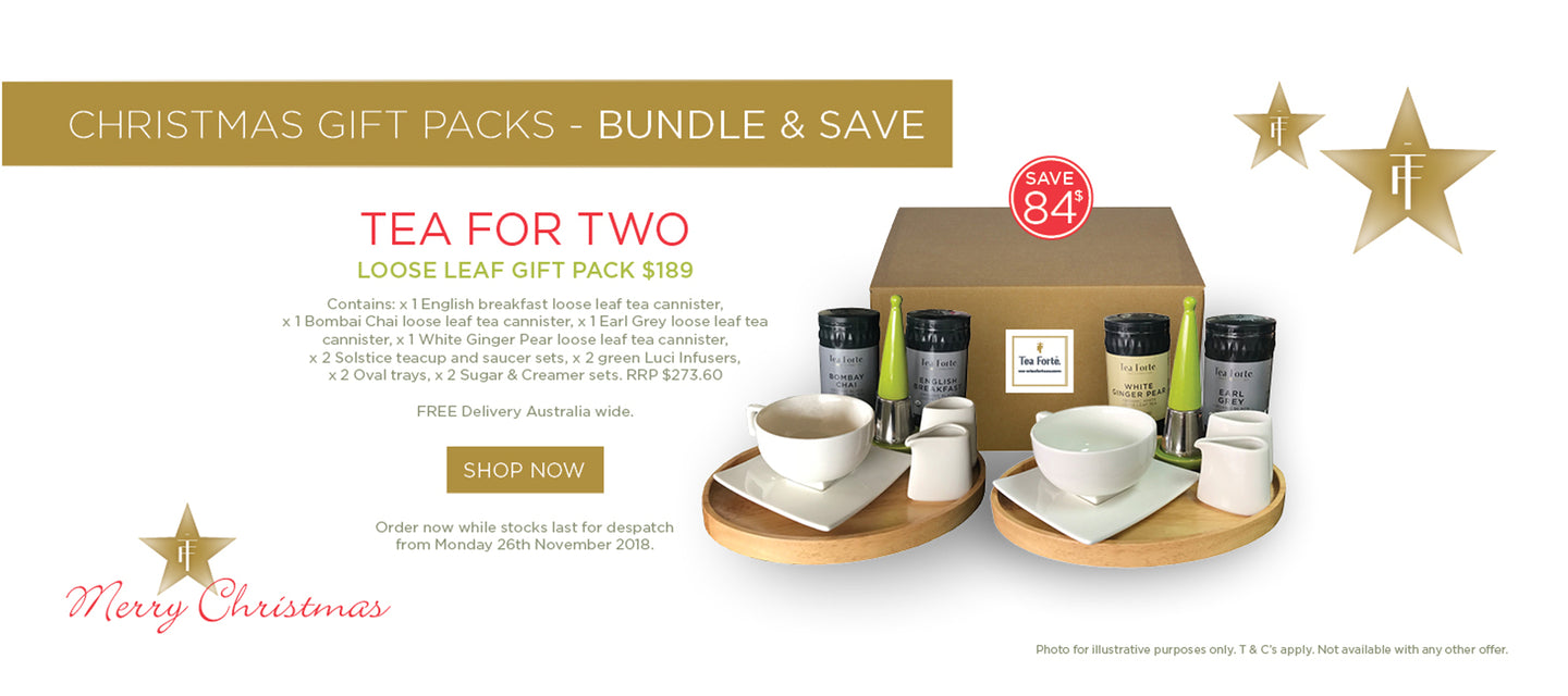 Tea Forte Tea for Two Loose Leaf Gift Pack