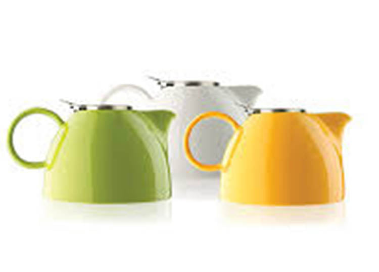 Aspen Tea Pot Pistachio Green