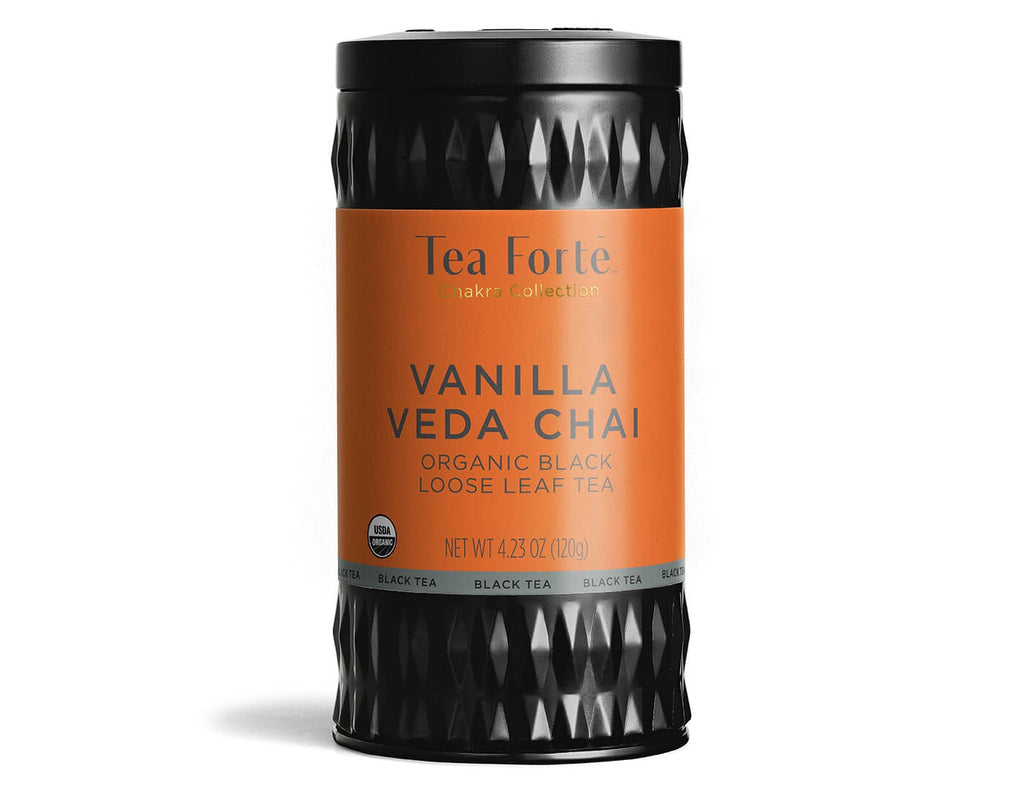 Vanilla Veda Chai - Loose Leaf Canister