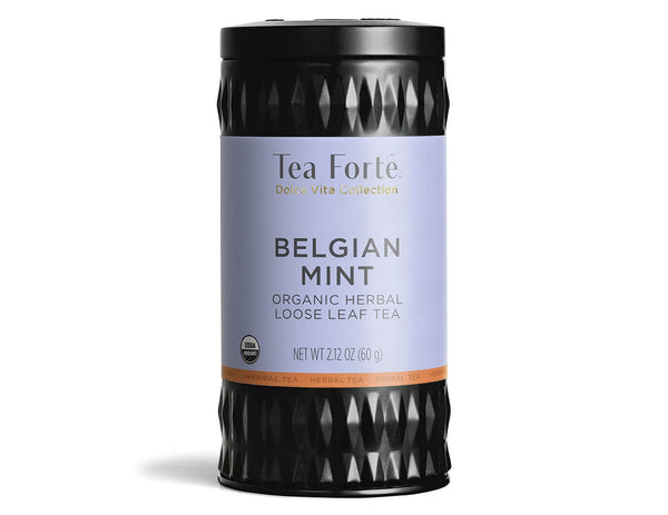 Belgian Mint - Loose Leaf Tea Canister
