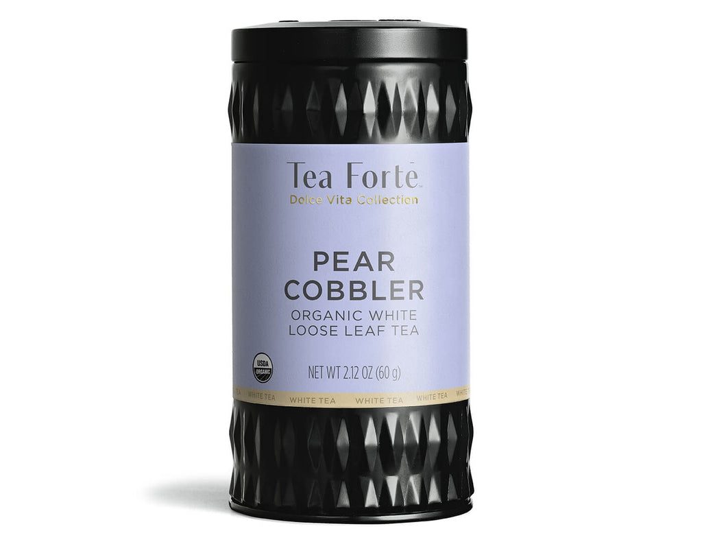 Pear Cobbler - Loose Leaf Tea Canister