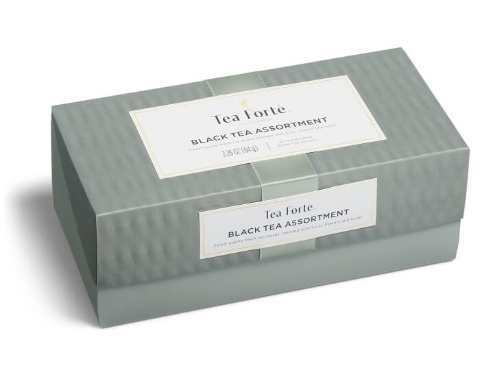 Black Tea Assortment-Presentation Box 20 Infusers