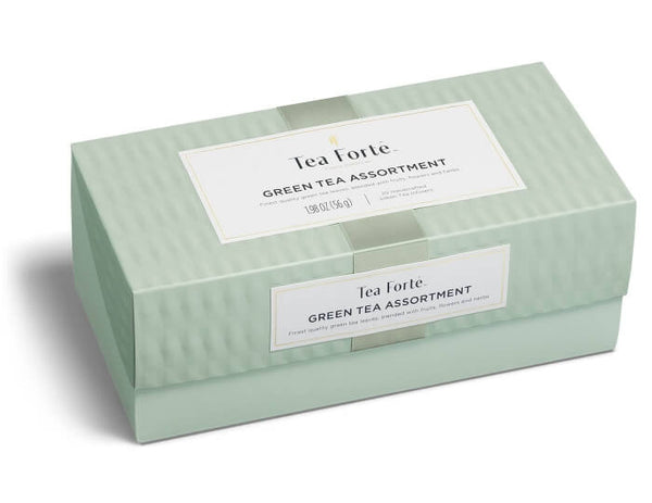 Green Tea Assortment-Presentation Box 20 Infusers