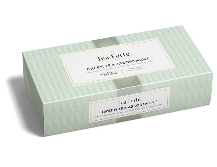 Green Tea Assortment-Petite Box 10 Infusers