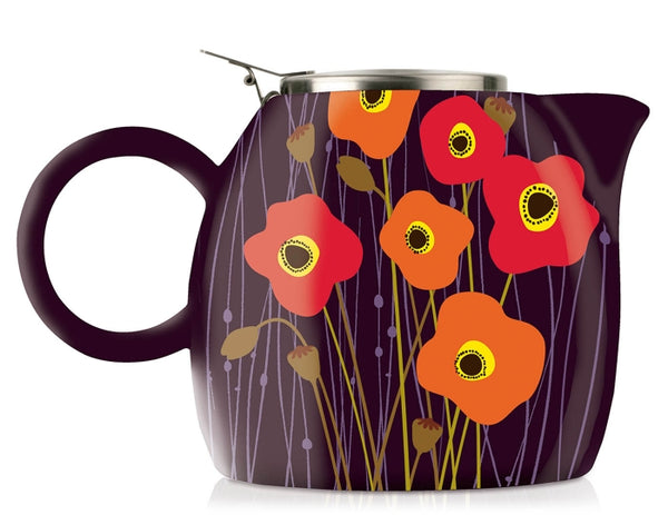 PUGG Teapot-Poppy Fields