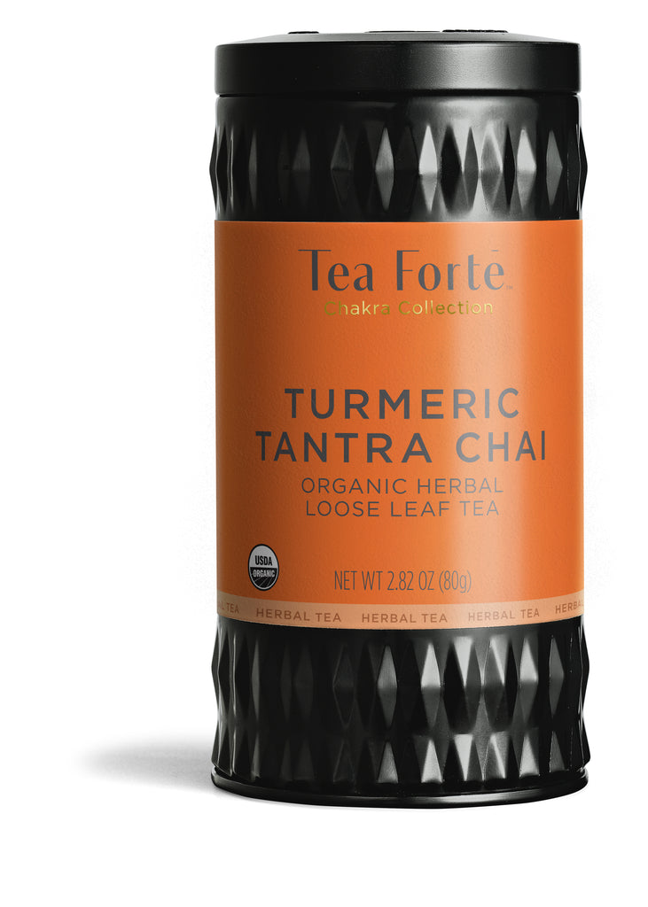 Tumeric Tantra Chai - Loose Leaf Canister + Free Luci Infuser