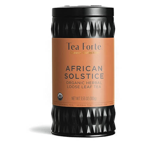 African Solstice-Loose Tea Canister